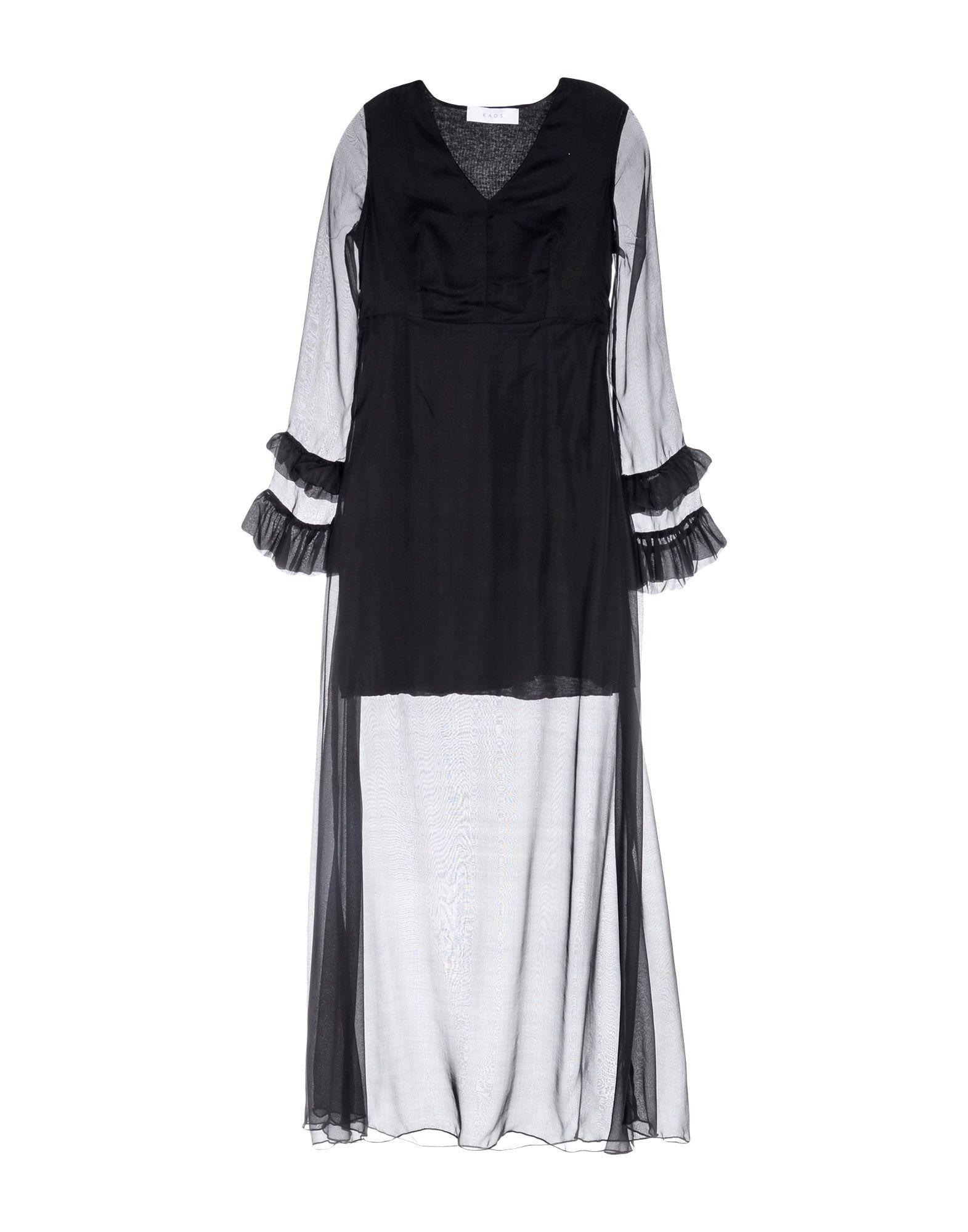 KAOS Длинное платье clio peppiatt длинное платье