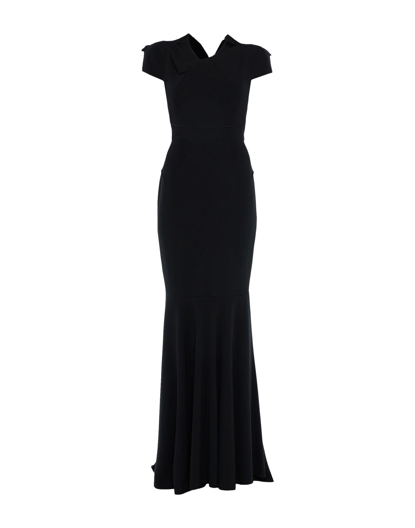 ROLAND MOURET Длинное платье roland mouret платье с асимметричным вырезом