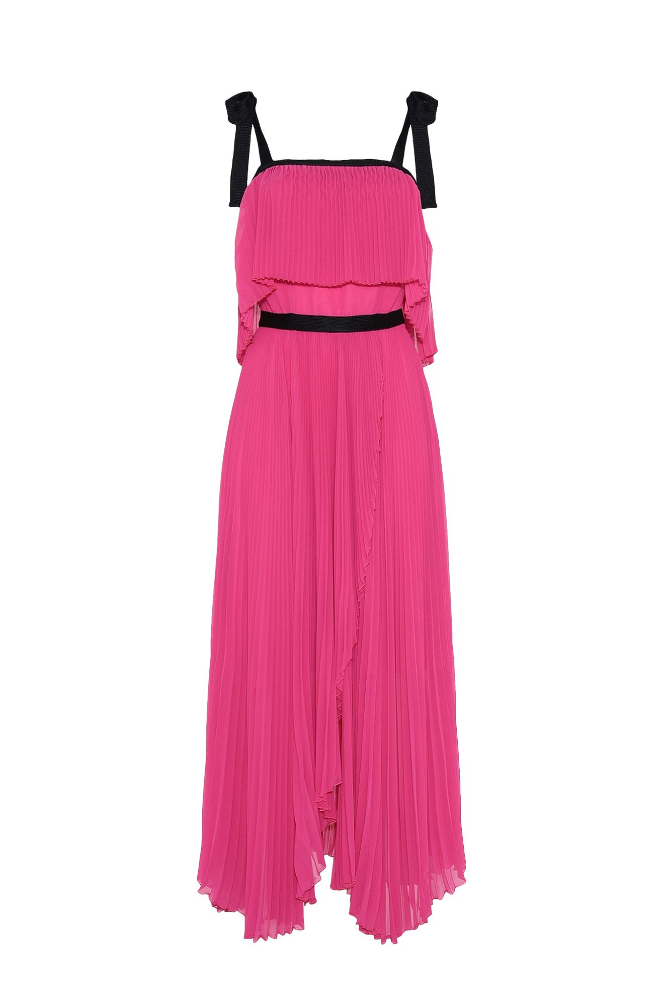 Fuchsia seventies dress