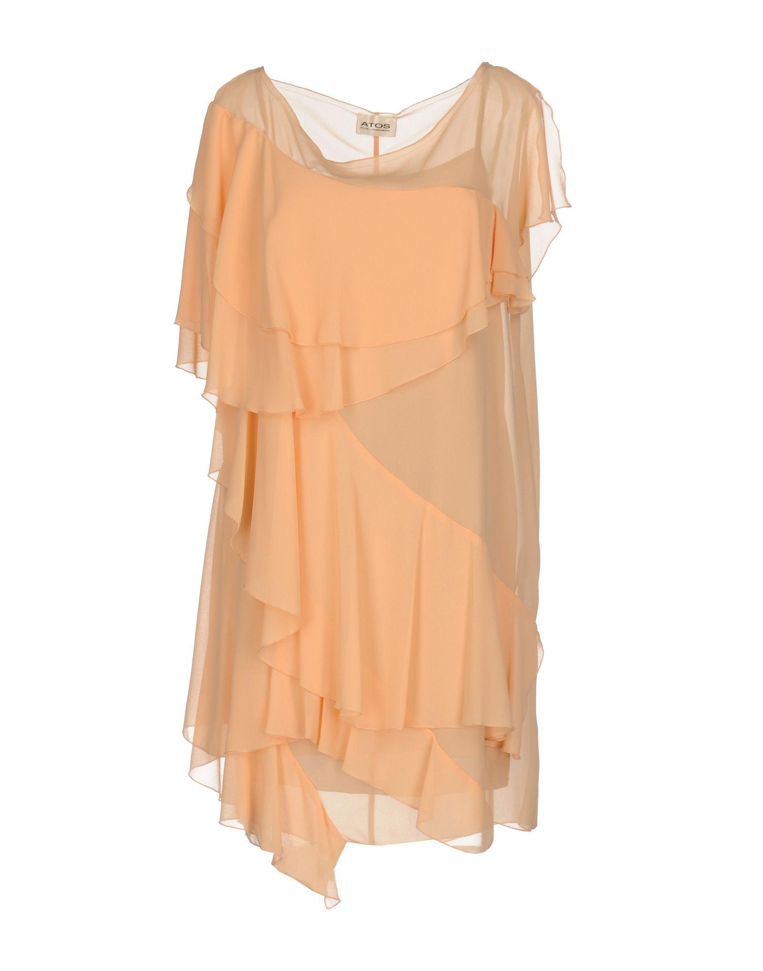 ATOS ATOS LOMBARDINI Короткое платье atos lombardini комплект