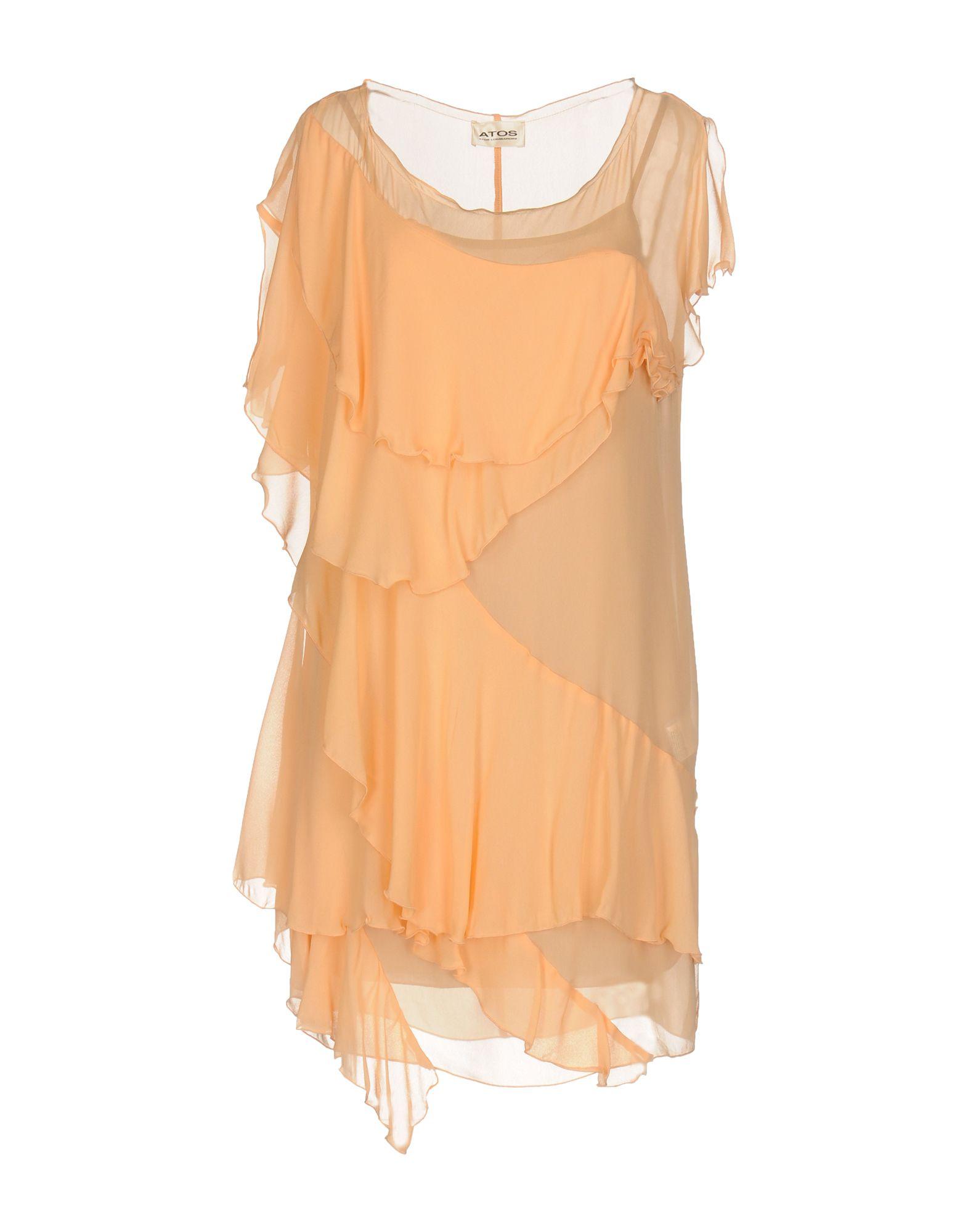 ATOS ATOS LOMBARDINI Короткое платье atos atos lombardini короткое платье