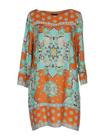 Фото - Женское короткое платье  бирюзового цвета