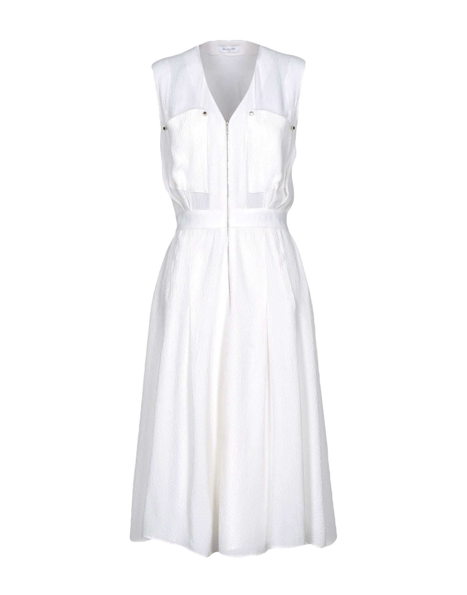 MUGLER Платье длиной 3/4 lisa corti платье длиной 3 4