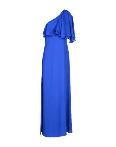 Фото - Женское длинное платье  ярко-синего цвета