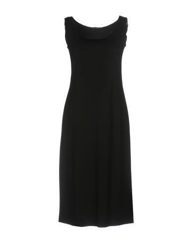 Фото - Платье до колена от MALÌPARMI черного цвета