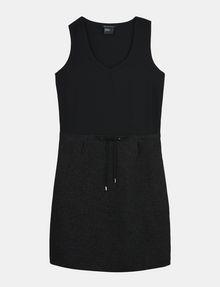 ARMANI EXCHANGE GLITTER PIECED DRAWSTRING TANK DRESS Mini dress Woman b