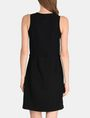 ARMANI EXCHANGE GLITTER PIECED DRAWSTRING TANK DRESS Mini dress Woman r