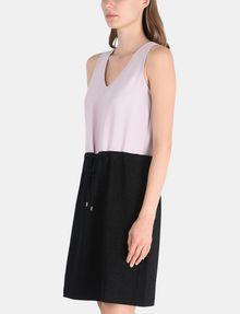 ARMANI EXCHANGE GLITTER PIECED DRAWSTRING TANK DRESS Mini dress Woman d