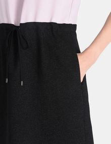 ARMANI EXCHANGE GLITTER PIECED DRAWSTRING TANK DRESS Mini dress Woman e