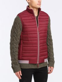 ARMANI EXCHANGE PACKABLE DOWN PUFFER VEST PUFFER JACKET Man d
