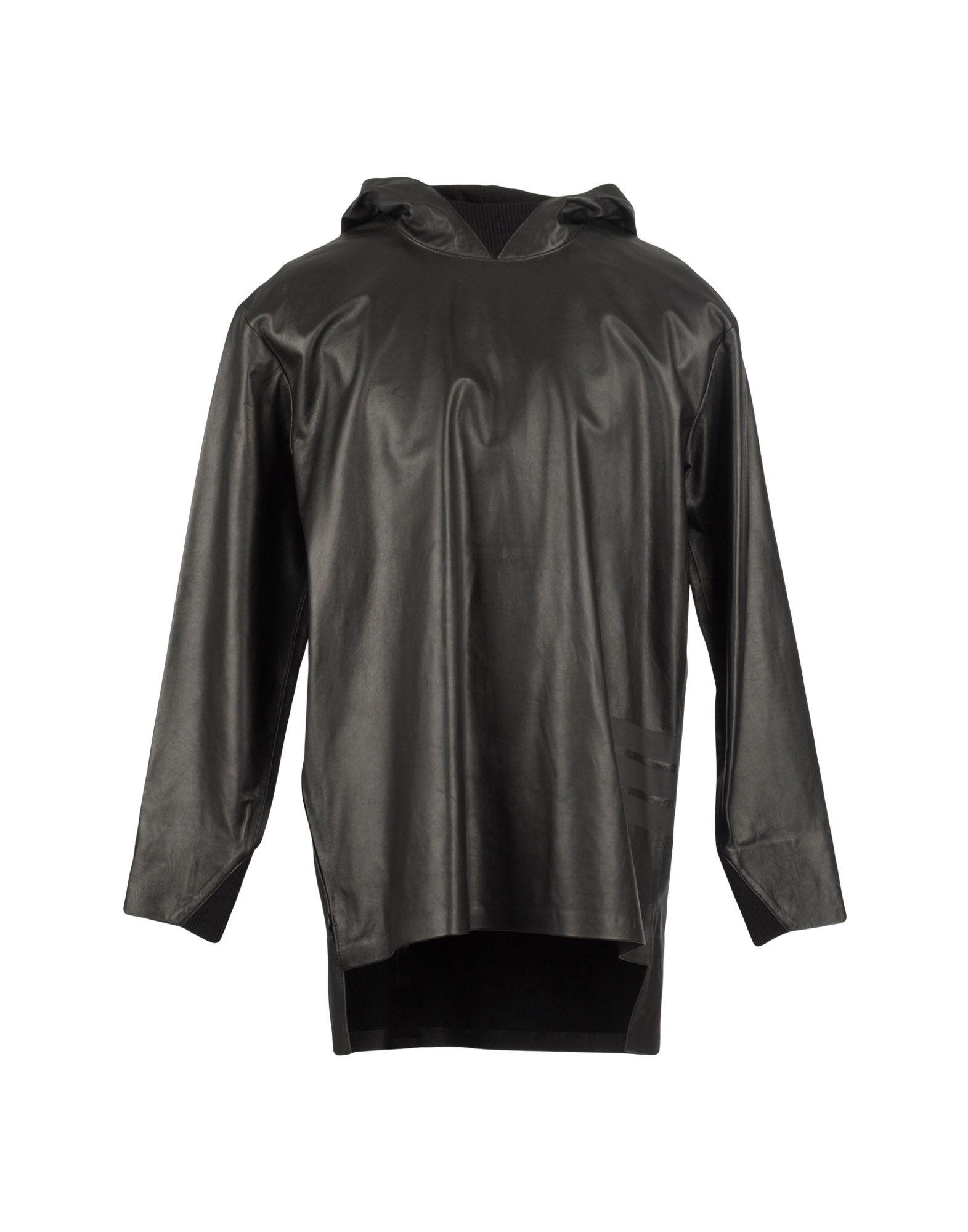 《送料無料》Y-3 メンズ ミニワンピース&ドレス ブラック M 革