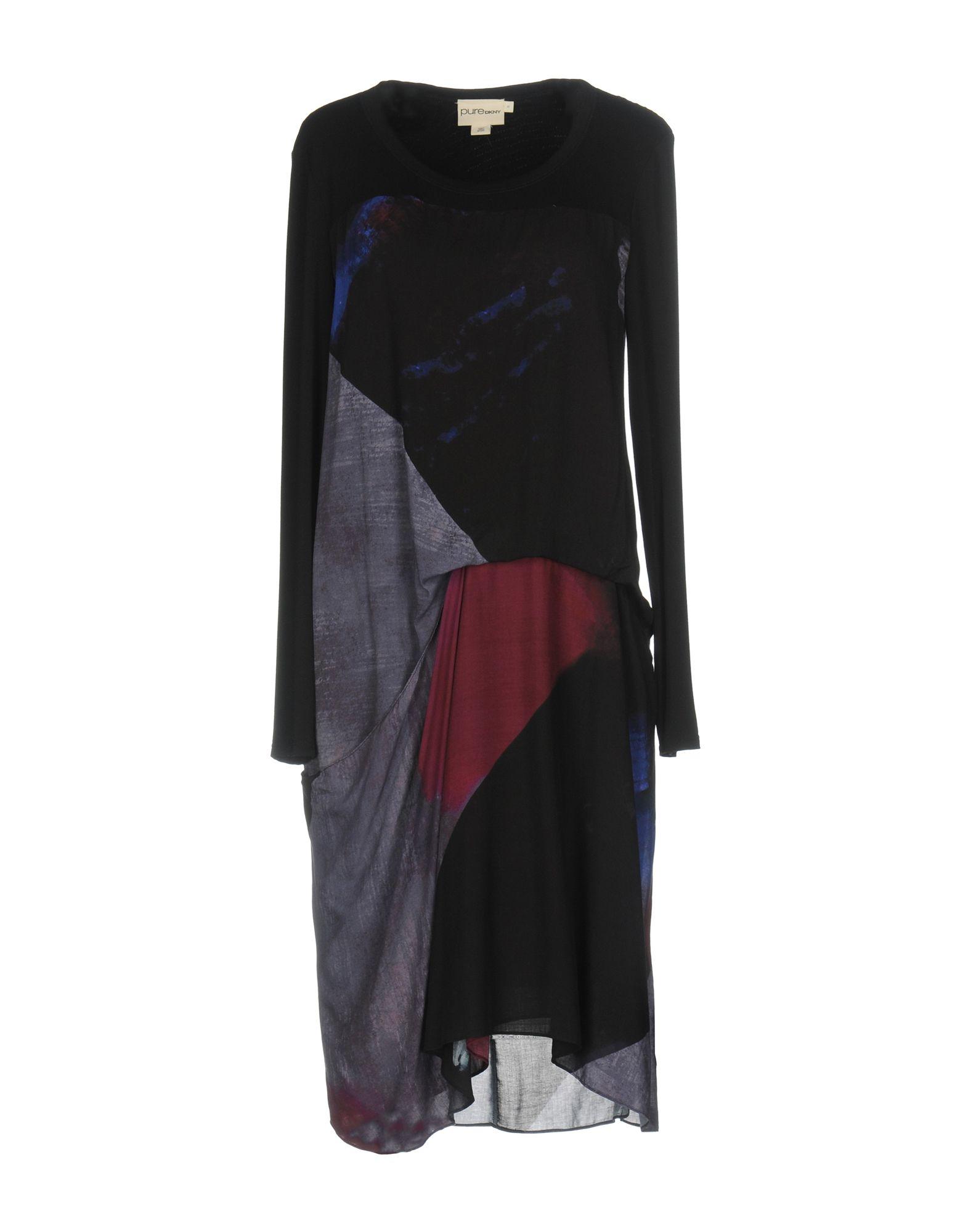 цена  DKNY PURE Платье до колена  онлайн в 2017 году