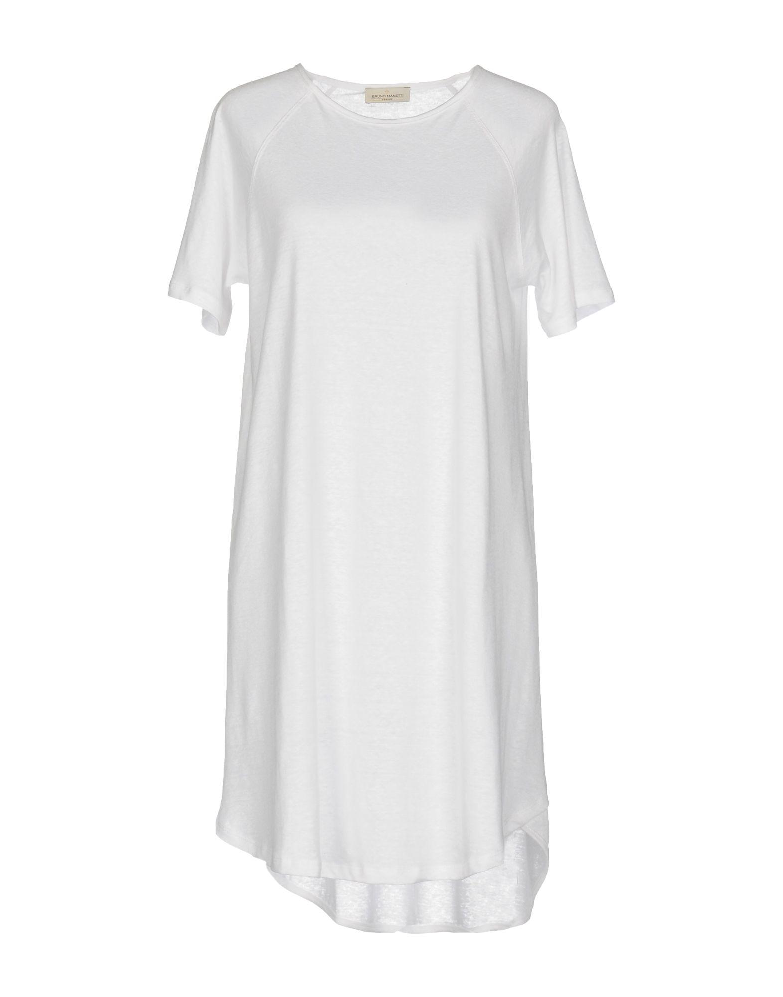BRUNO MANETTI Короткое платье цена 2017
