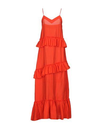Фото - Женское длинное платье WEILI ZHENG красного цвета