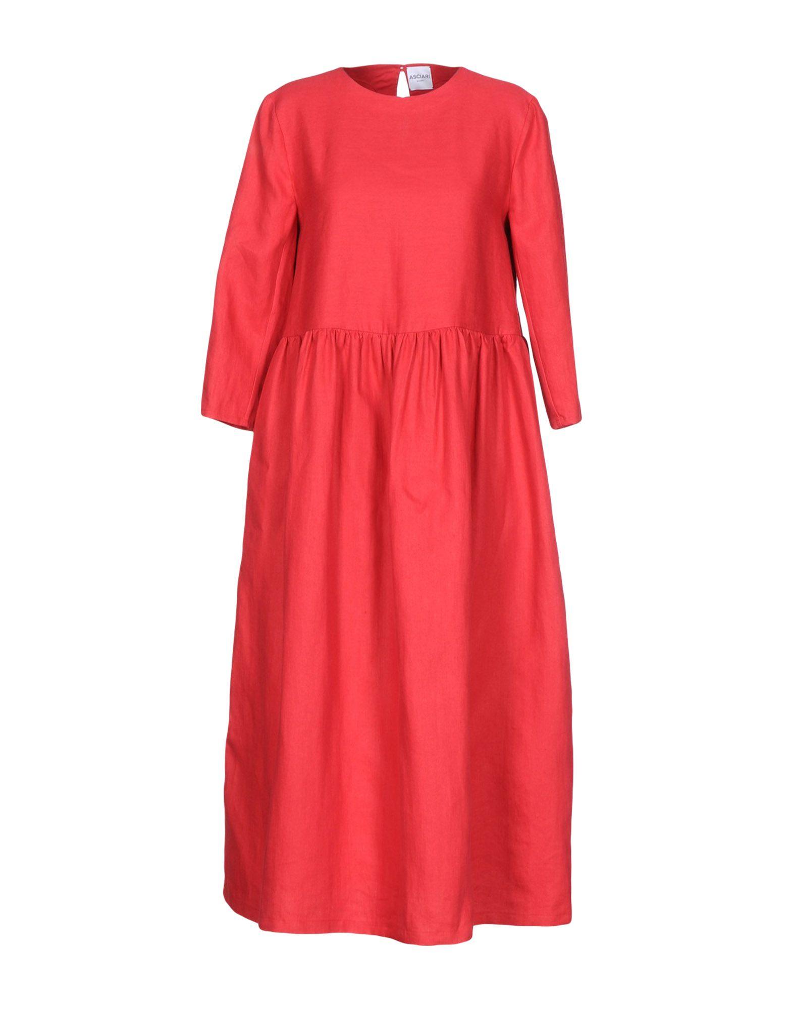 ASCIARI Платье длиной 3/4 lisa corti платье длиной 3 4