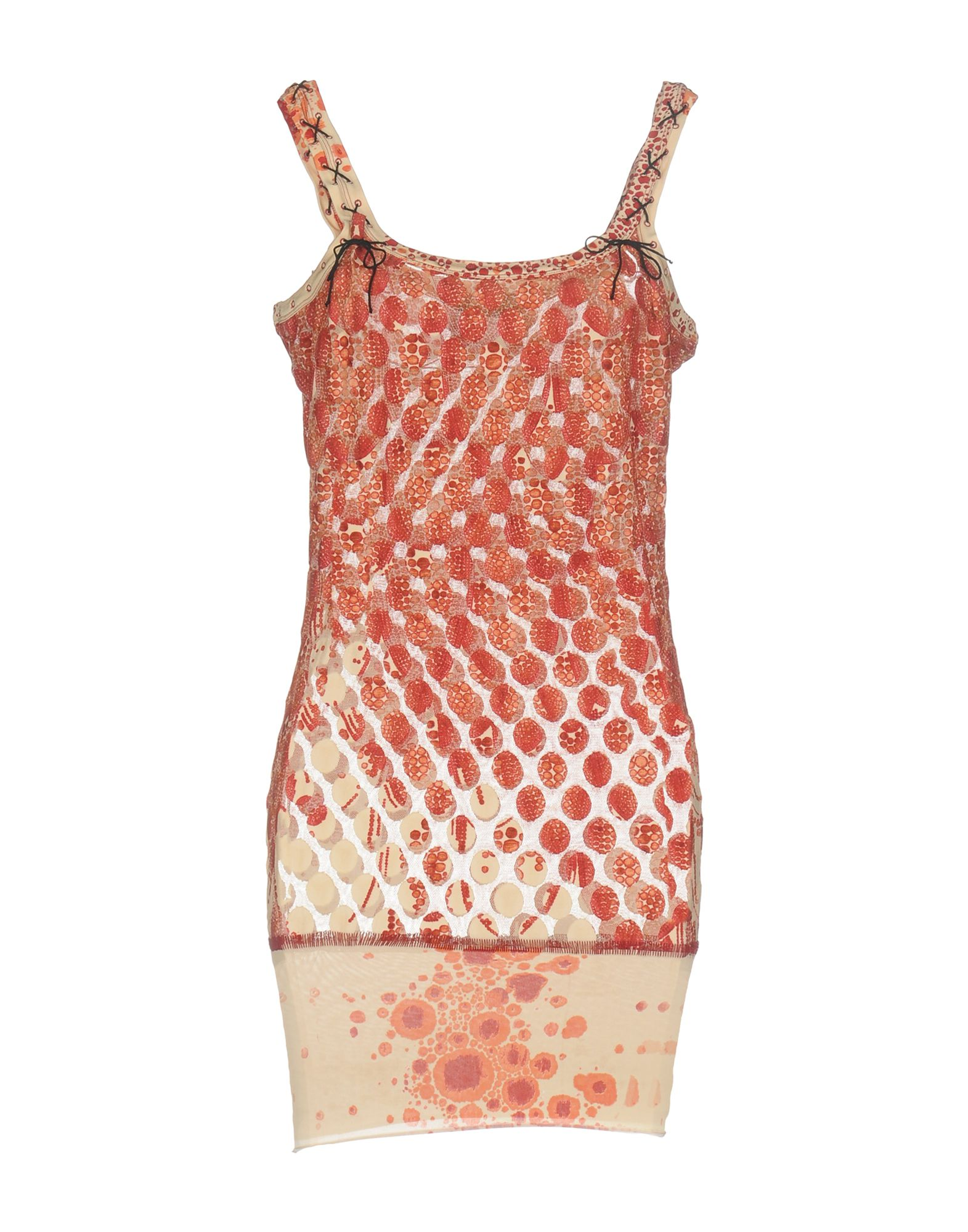 JEAN PAUL GAULTIER MAILLE FEMME Короткое платье jean paul gaultier maille femme майка