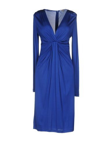 Купить Платье до колена синего цвета