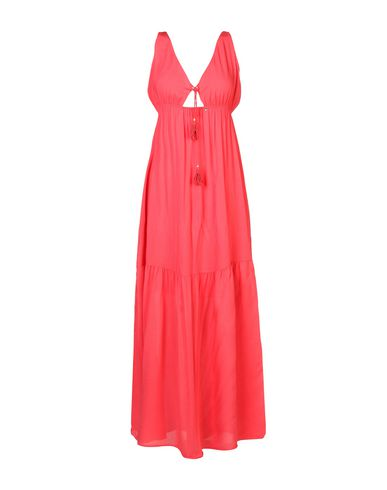 Фото - Платье длиной 3/4 кораллового цвета