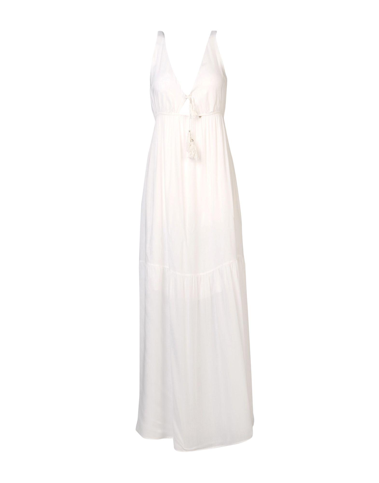 GUESS Платье длиной 3/4 памук о рыжеволосая женщина