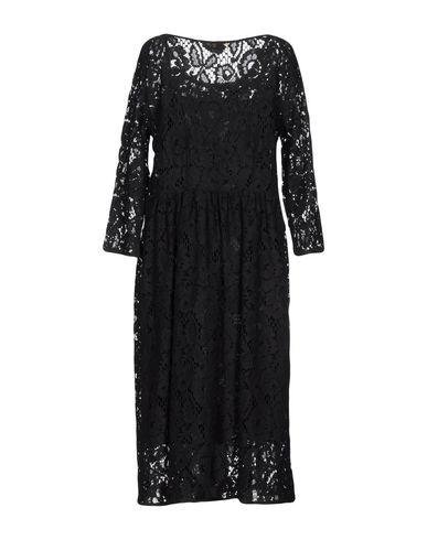 Фото 2 - Платье длиной 3/4 от MOMONÍ черного цвета