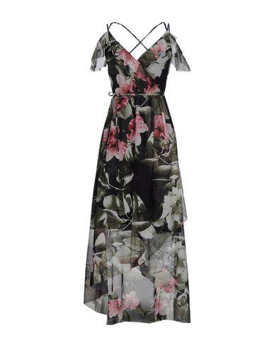 Фото - Платье длиной 3/4 цвет стальной серый
