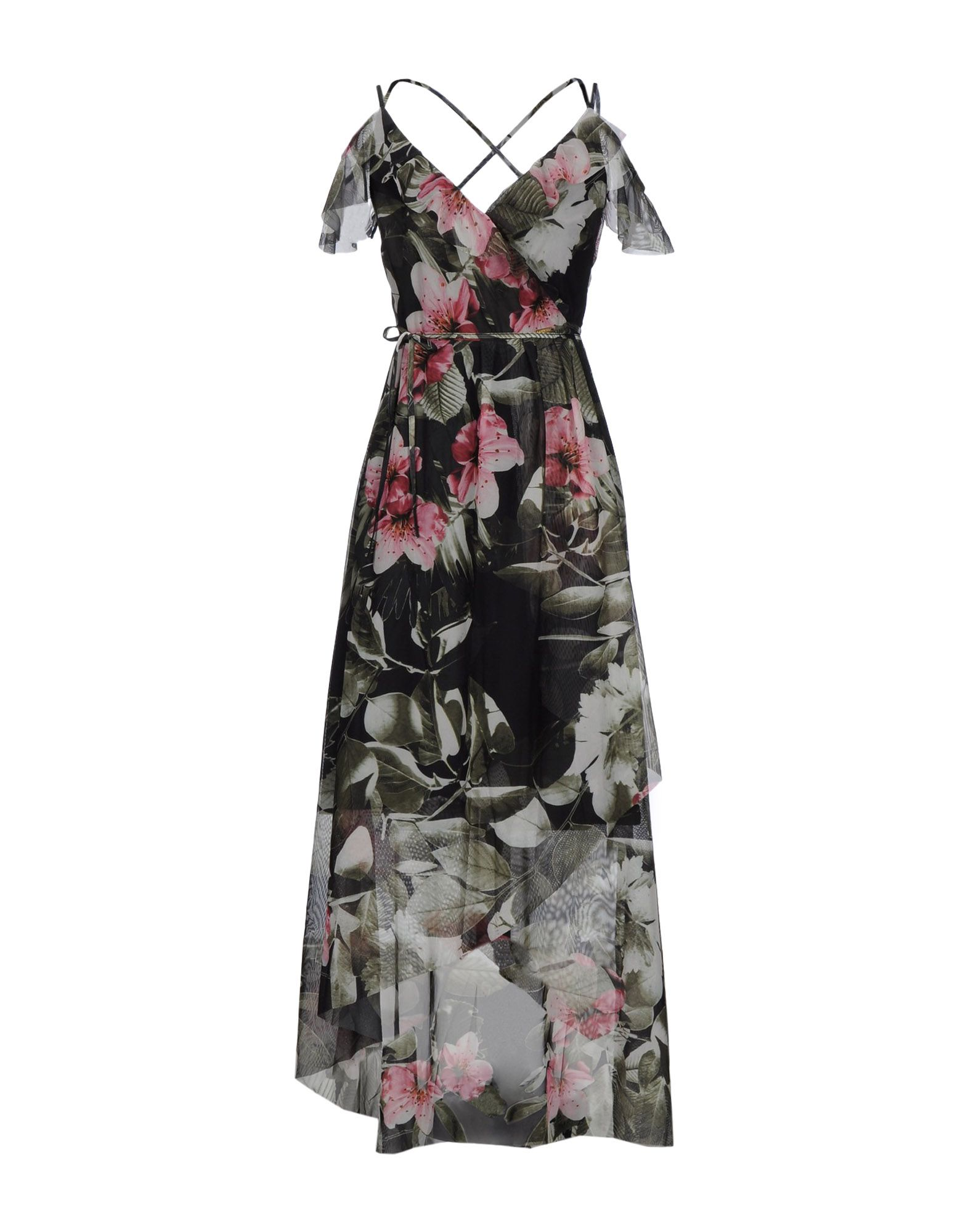 GUESS Платье длиной 3/4 lisa corti платье длиной 3 4