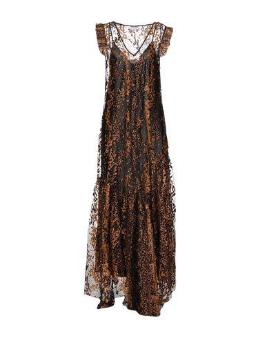 Купить Женское длинное платье  цвет верблюжий