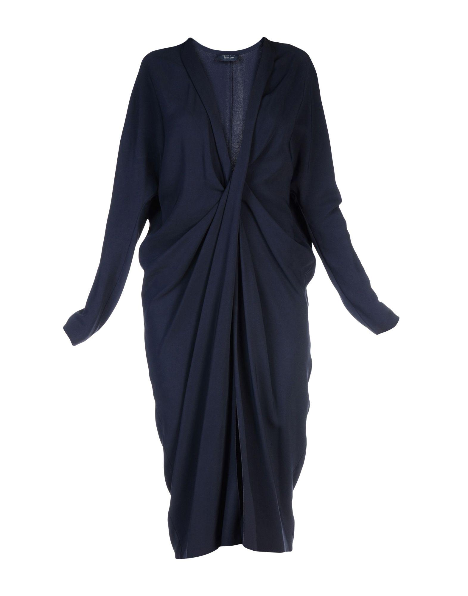 где купить LANVIN Платье до колена по лучшей цене