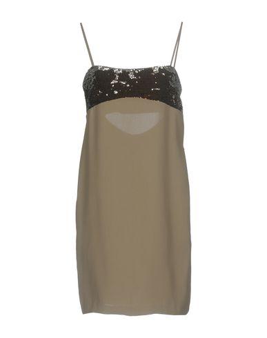 Фото - Женское короткое платье TWINSET серого цвета