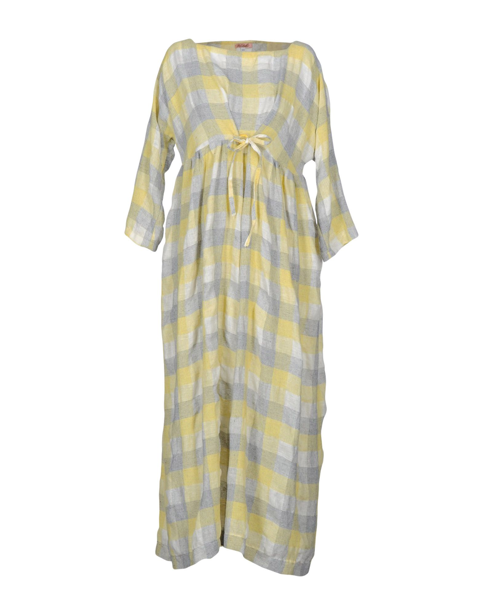 ROSE' A POIS Платье длиной 3/4 lisa corti платье длиной 3 4