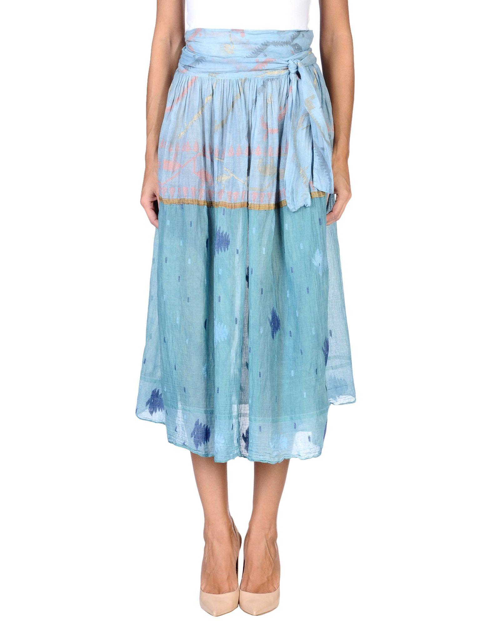 AODRESS Юбка длиной 3/4 moschino couture юбка длиной 3 4