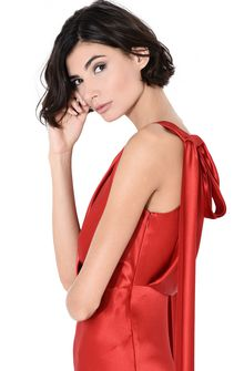 ALBERTA FERRETTI DIVA RED DRESS Long Dress Woman d