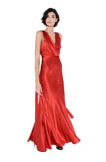 ALBERTA FERRETTI DIVA RED DRESS Long Dress Woman f