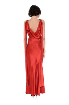 ALBERTA FERRETTI DIVA RED DRESS Long Dress D r