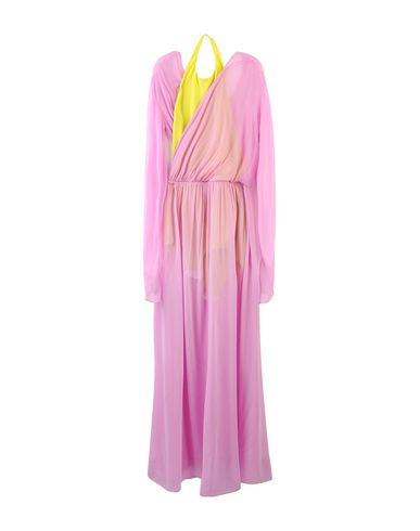 Фото - Женское длинное платье  светло-фиолетового цвета