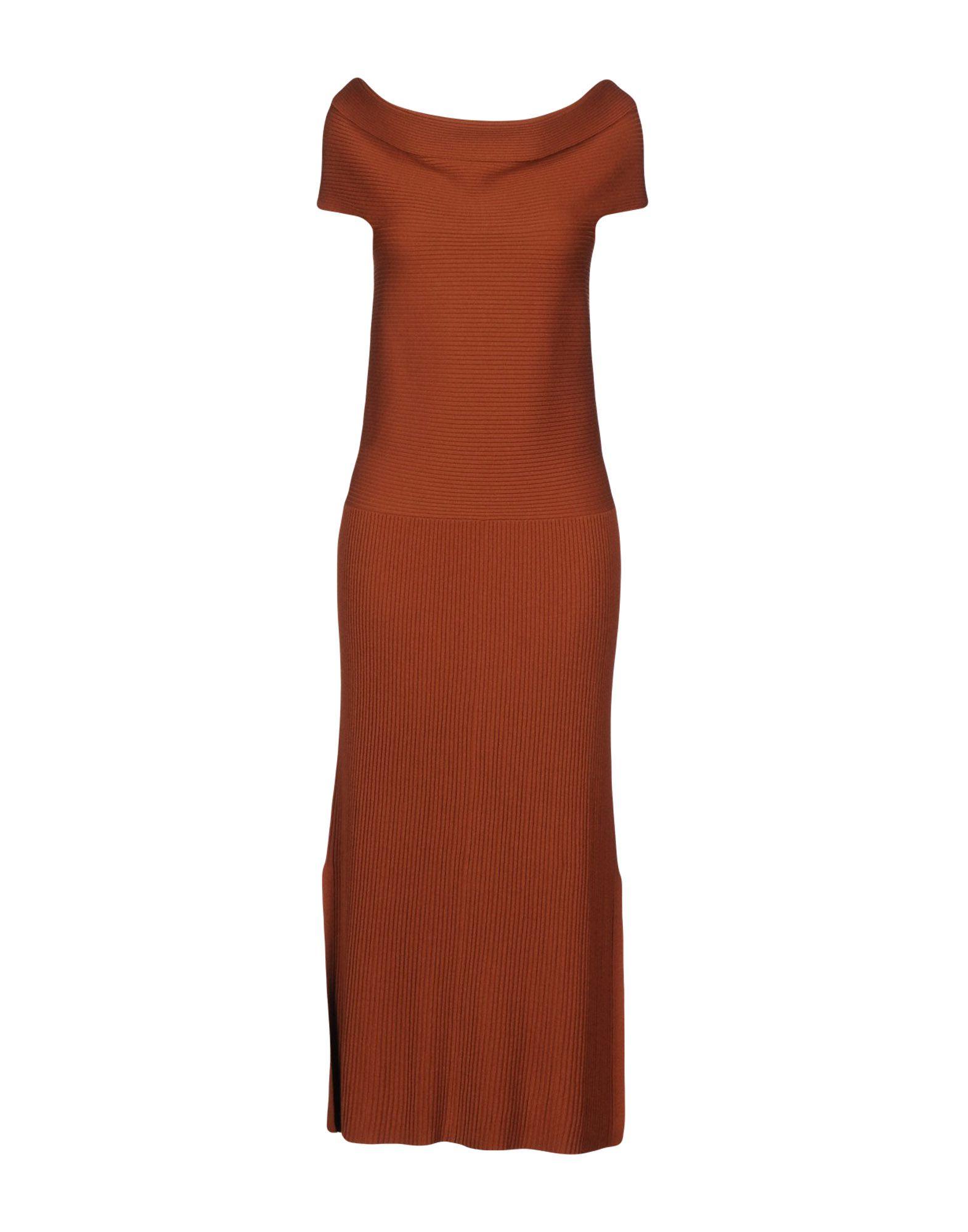 цена  ELIZABETH AND JAMES Платье длиной 3/4  онлайн в 2017 году