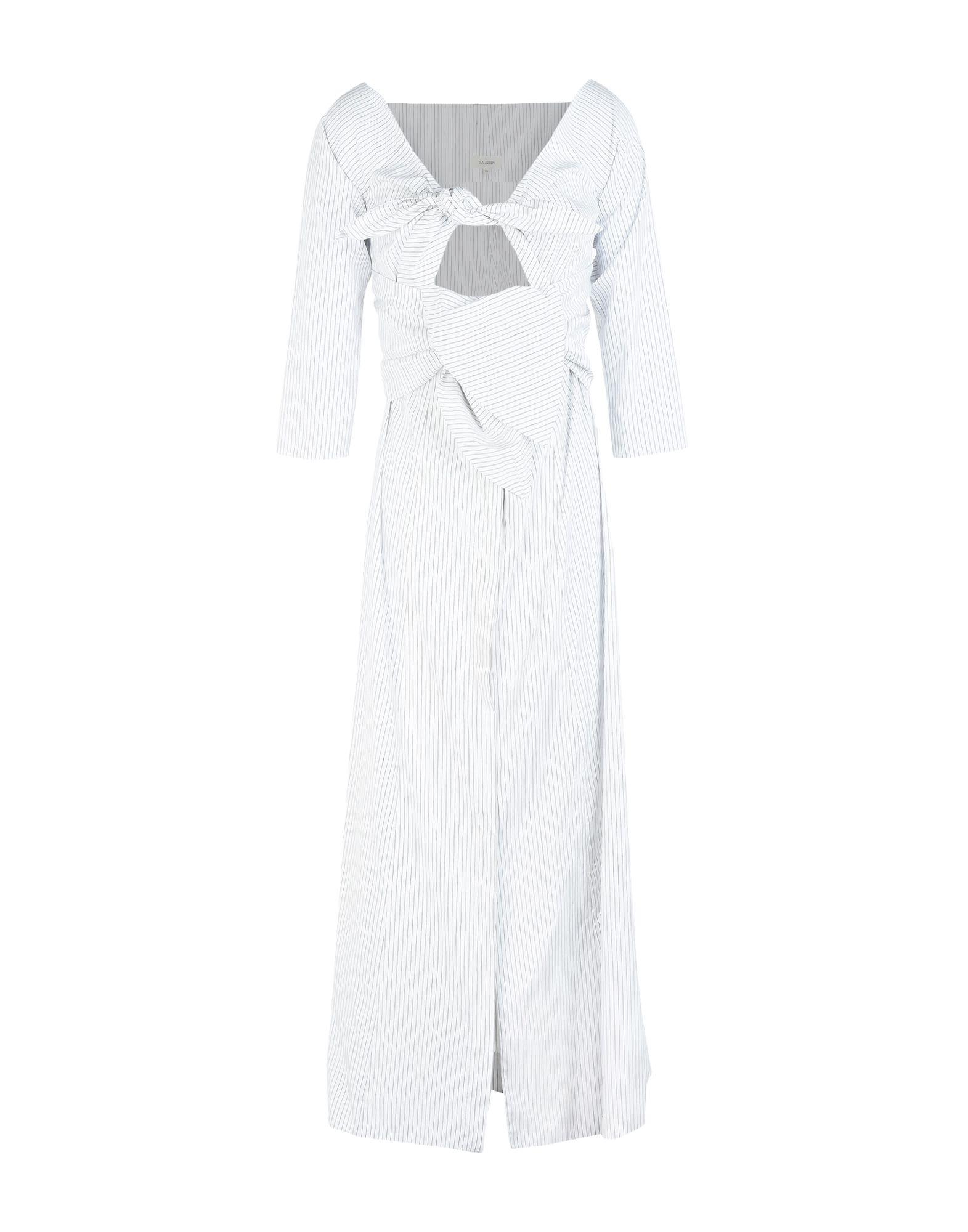 цена ISA ARFEN Длинное платье онлайн в 2017 году