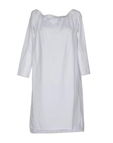 Фото - Женское короткое платье JIJIL белого цвета