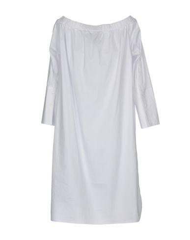 Фото 2 - Женское короткое платье JIJIL белого цвета