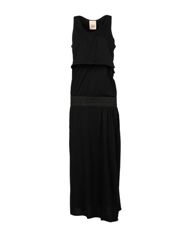 Фото - Женское длинное платье JIJIL черного цвета
