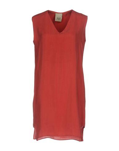 Фото - Женское короткое платье JIJIL кирпично-красного цвета