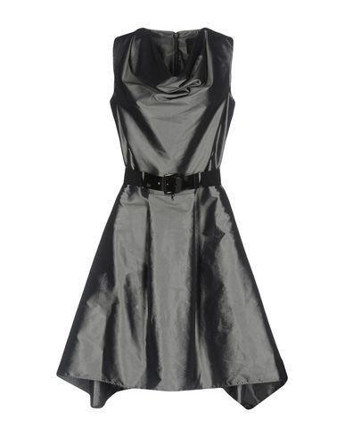 Фото - Женское короткое платье JIJIL свинцово-серого цвета