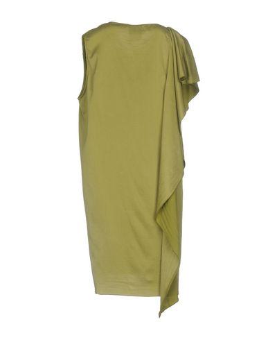 Фото 2 - Женское короткое платье JIJIL светло-зеленого цвета