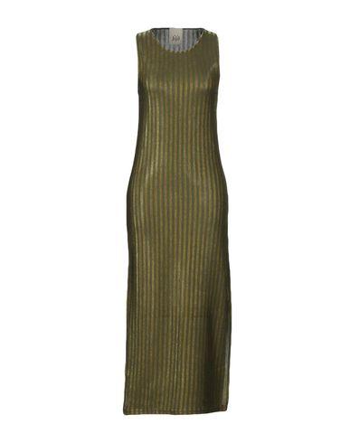 Фото - Женское длинное платье JIJIL цвет зеленый-милитари