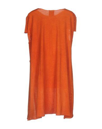 Фото 2 - Женскую футболку JIJIL оранжевого цвета