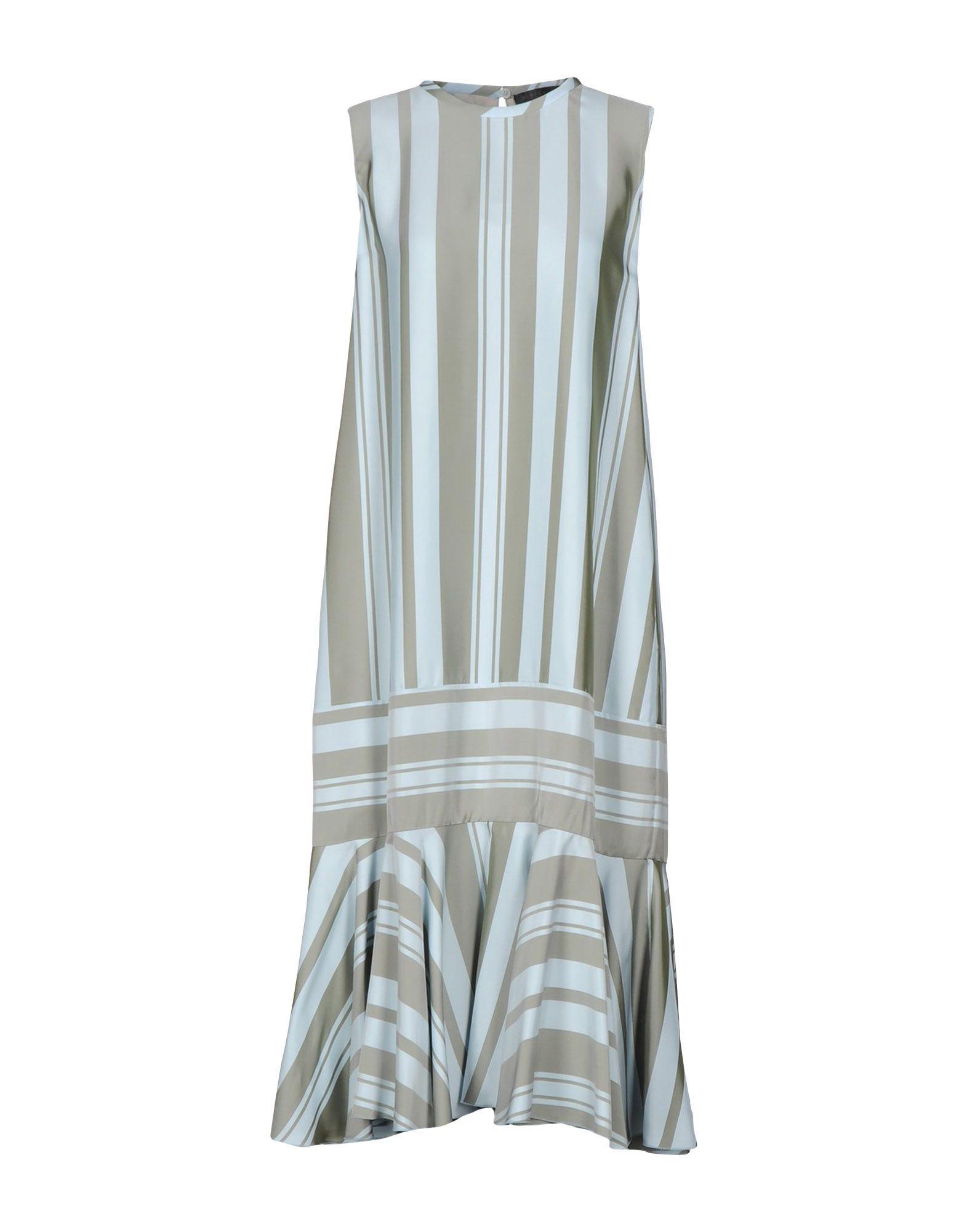 ALBINO TEODORO Платье до колена albino вечерние платья