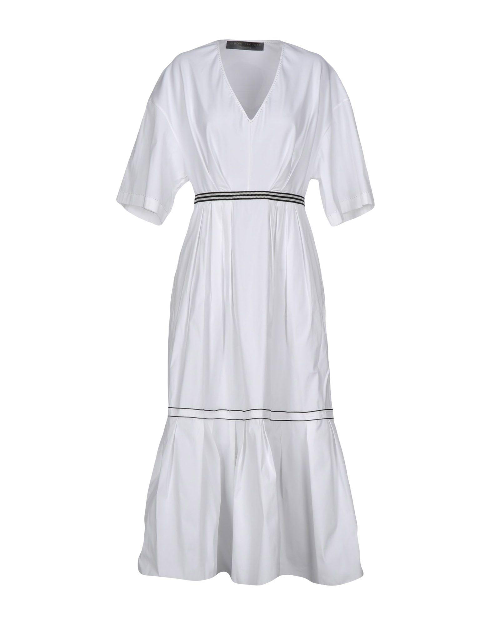 ALBINO TEODORO Платье длиной 3/4 lisa corti платье длиной 3 4
