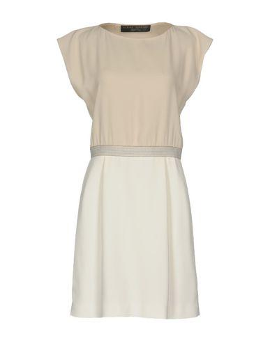 Купить Женское короткое платье ALBINO TEODORO бежевого цвета