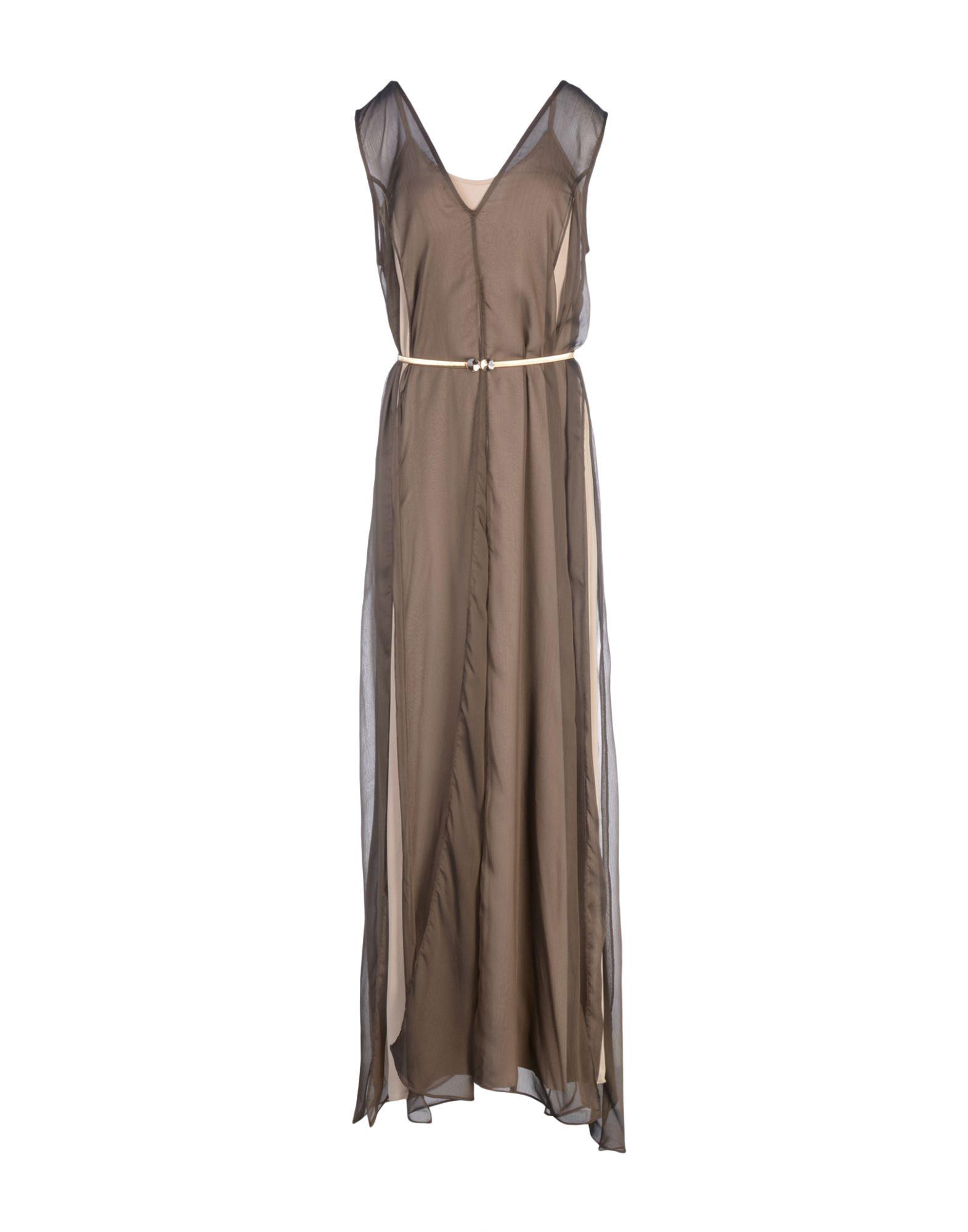 JIJIL Длинное платье prism длинное платье