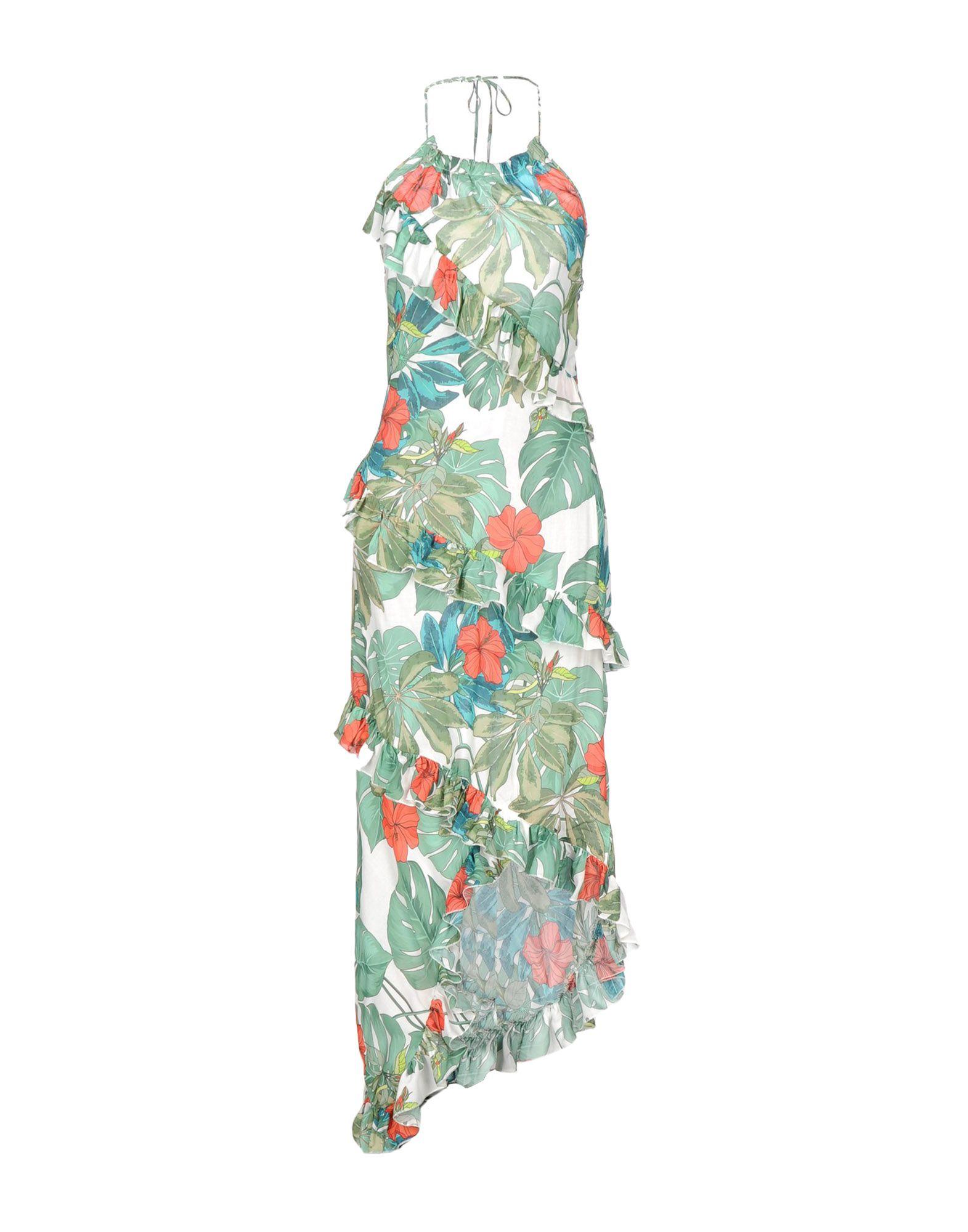 TENAX Платье до колена tenax длинное платье